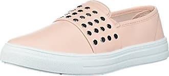 Qupid Womens REBA-167B Sneaker, Soft Blush, 7.5 M US
