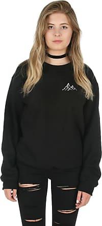 Sanfran Clothing Sanfran - Mountain Pocket Nature Plants Climber Outdoors Jumper Sweater - Small/Black