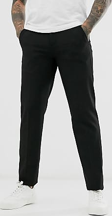 French Connection Slim Fit Trousers-Black