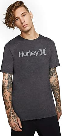 Hurley Camiseta Hurley Silk Oeo Solid Cor:Cinza;Tamanho:P