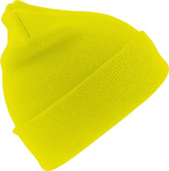Result Woolly Thermal Ski/Winter Hat with 3M Thinsulate Insulation (One Size) (Hi-Vis Yellow)