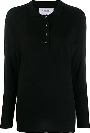 Snobby Sheep Camisa polo de tricô - Preto