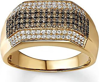 Kay Jewelers Mens Diamond Band 1 ct tw White/Brown 10K Yellow Gold