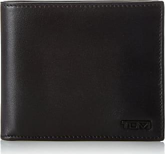 Tumi Mens Delta Global Center Flip ID Passcase, Black, One Size
