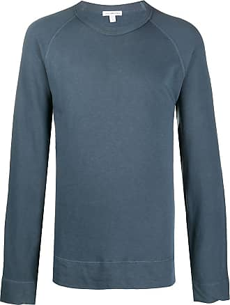 James Perse round-neck sweatshirt - Blue
