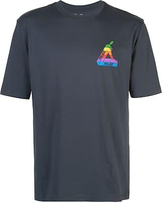 Palace Camiseta com estampa Jobsworth - Azul