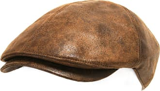 Ililily New Mens Flat Cap Vintage Cabbie Hat Gatsby Ivy Caps Irish Hunting Hats Newsboy with Stretch fit (flatcap-001) (XL-Light Brown)