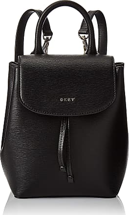 DKNY Mini Leather Backpack/Handbag with Removable Straps and Top Handle