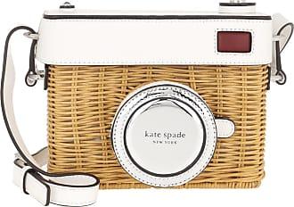 Kate Spade New York Rose 3D Camera Bag Optic White Umhängetasche weiß