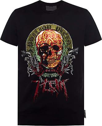 Philipp Plein T-shirt With Logo Mens Black