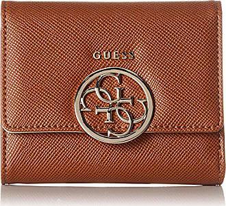 b6f4dc3dcb18 Guess Slg Wallet, Portefeuilles femme, Marron (Cognac), 3x11.5x12 cm