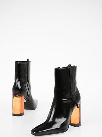 Drome 11cm Leather Ankle Boots Plexiglass Heel Größe 37