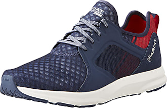 Ariat Mens Fuse Athletic Shoe in Team Navy, D Medium Width, Size 10.5, by Ariat