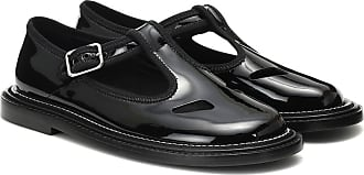 Burberry Alannis patent-leather Mary Jane flats