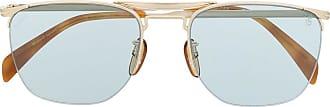 David Beckham Óculos de sol quadrado - Dourado