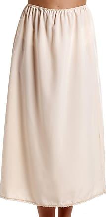 Camille Womens Ladies Beige 24 Half Length Cling Resistant Under Skirt Slip 10