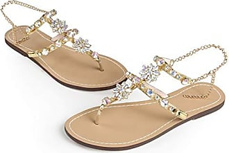 Zehentrenn Sommer Strand Zehentrenner Damen Schuhe Sandalen Stiefel NEU Gr:34-47
