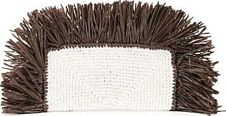 0711 straw cultch bag - Brown