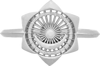 Zoe & Morgan Zweiter Chakra-Silberring - SMALL - Silver