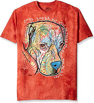 The Mountain Dogs Speak Adult T-Shirt, Orange, 5XL