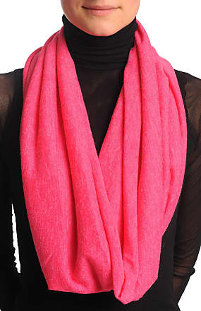 Liss Kiss Cerise Pink Woolly Snood Scarf - Pink Designer Snood