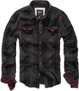 Brandit Duncan Checkshirt - Brown - XX-Large
