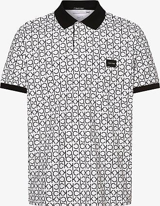 Calvin Klein Herren Poloshirt weiss