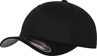 Yupoong New Plain Flexfit Baseball Cap - Black - Size L/XL