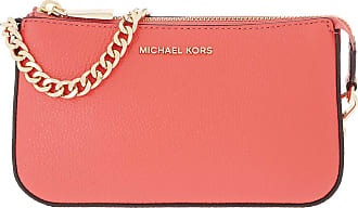 Michael Kors Pochette - Jet Set MD Chain Pouchette Pinkgrapefruit - orange - Pochette for ladies