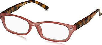 Peepers Womens Straight & Narrow 2391200 Rectangular Reading Glasses, Pink, 2