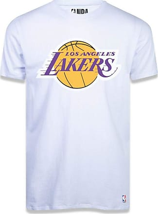 NBA Camiseta NBA Los Angeles Lakers Branca