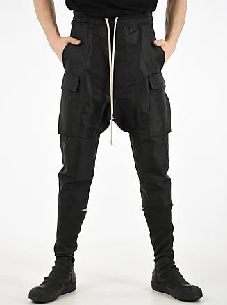 Rick Owens Cotton and Nylon DRAWSTRING CROPPED Pants size 46