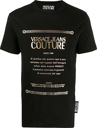 Versace Jeans Couture T-shirt con logo - Di colore nero