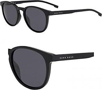 f2f27878f82 HUGO BOSS BOSS by Hugo Boss Mens Boss 0922 s Polarized Oval Sunglasses  BLACK 51