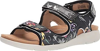 Rockport Womens CL Eileen 3 Strap Sandal Floral 7.5 M US