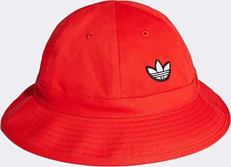 adidas Originals Samstag - Cappello da pescatore rosso