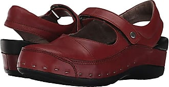 Wolky Strap Cloggy (Terracotta Vegi Leather) Womens Clog Shoes