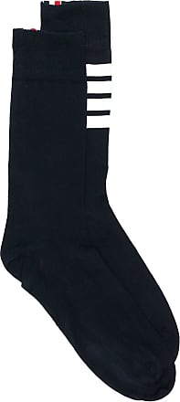 Thom Browne 4-Bar Lightweight Mid-Calf Socks - Blue