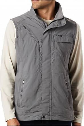 Columbia Silver Ridge II Vest Gilet softshell Uomo | grigio/marrone