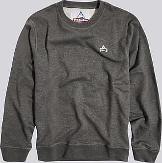 HOLUBAR sweatshirt patch bf12 grau meliert