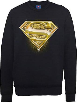 DC Comic Official Superman Engraving Logo Sweat /à Capuche Gar/çon