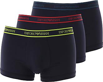 Emporio Armani Intimo Boxer da Uomo On Sale, 3 Pack, Blue Marine, Cotone, 2019, S