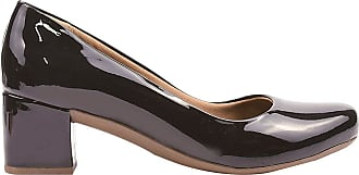 Eleganteria Sapatilha Feminina Scarpin Bico Redondo Eleganteria Tamanho:35;Cor:Preto
