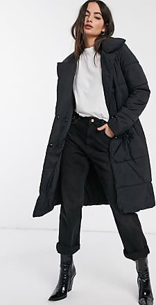 Y.A.S long line puffer coat-Black
