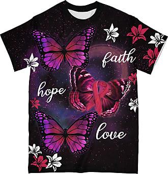 NA Breast Cancer Awareness Butterfly 3D Shirt
