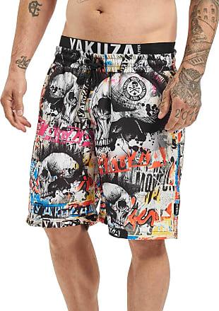 Yakuza Mens Sick Allover Board Shorts - Multicolour - Medium