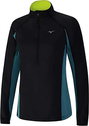 Mizuno Womens Static BT Running Windtop - Small Black