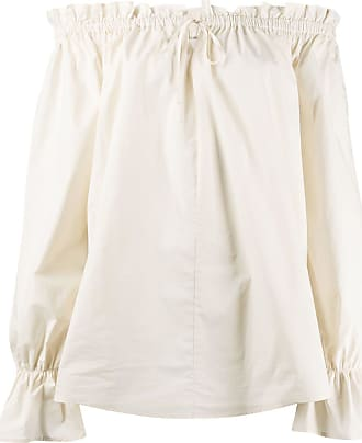 L'autre Chose drawstring fastening loose-fit tunic - NEUTRALS
