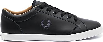 Fred Perry TÊNIS MASCULINO BASELINE LEATHER - PRETO