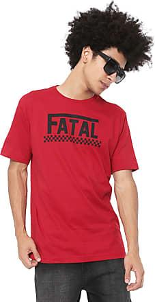 Fatal Surf Camiseta Fatal Estampada Vermelha